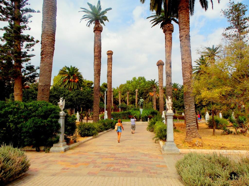 Chios Yunanistan-Halk Parkı
