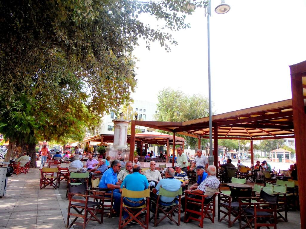 Chios Yunanistan-Ana Meydan