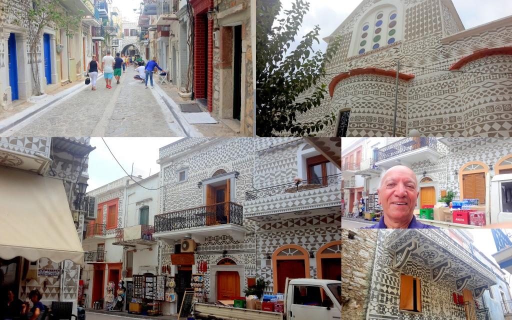 Sakız-Chios Adası Pirgi Köyü Yunanistan