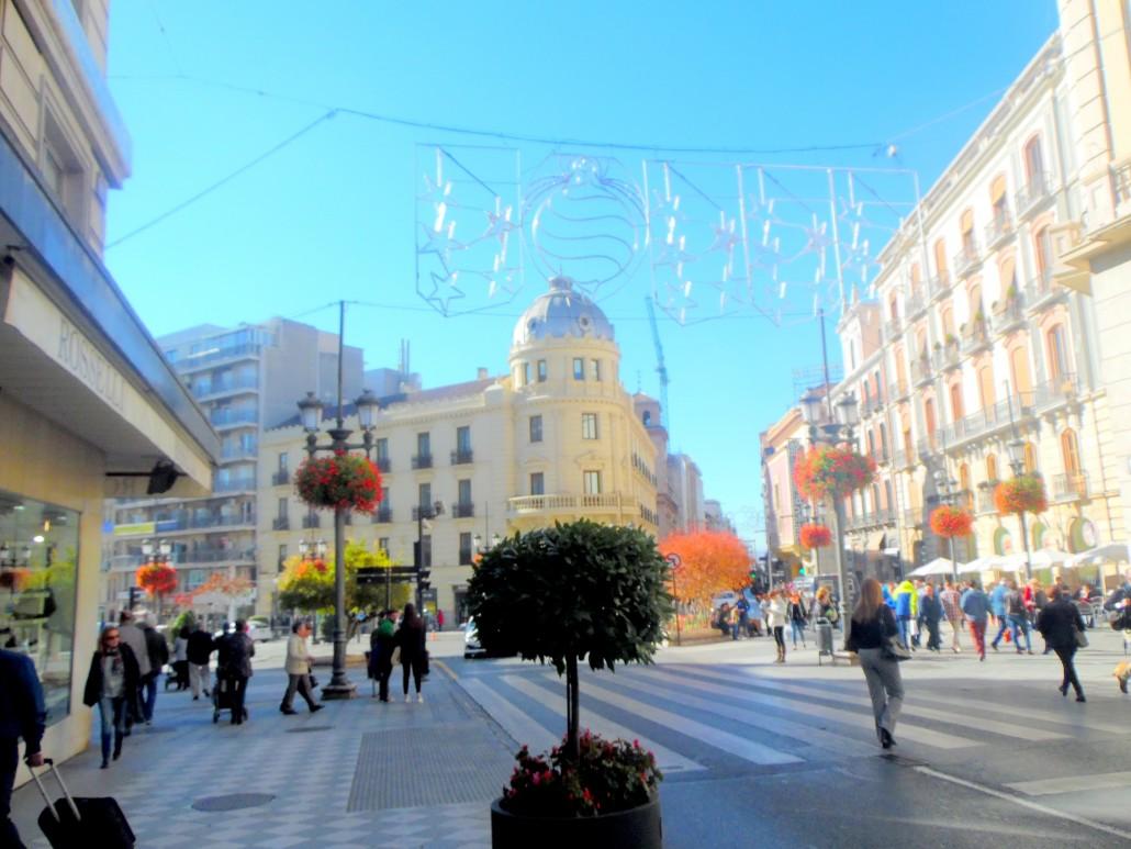 Katolik Krallar Caddesi Granada Endülüs