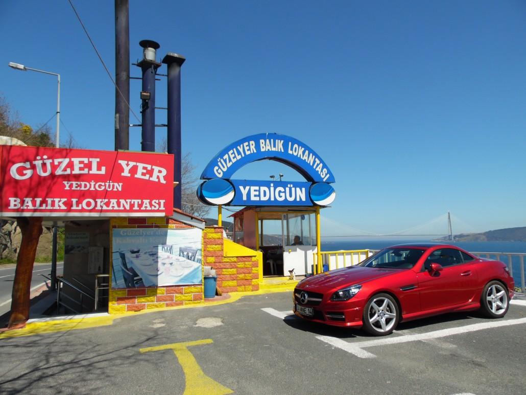 Ğüzelyer Balıkçı Lokantası Rumelikavağı Sarıyer İstanbul
