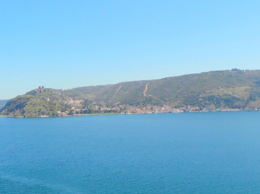 Rumelikavağı Sarıyer Sahil yolundan Anadolukavağı