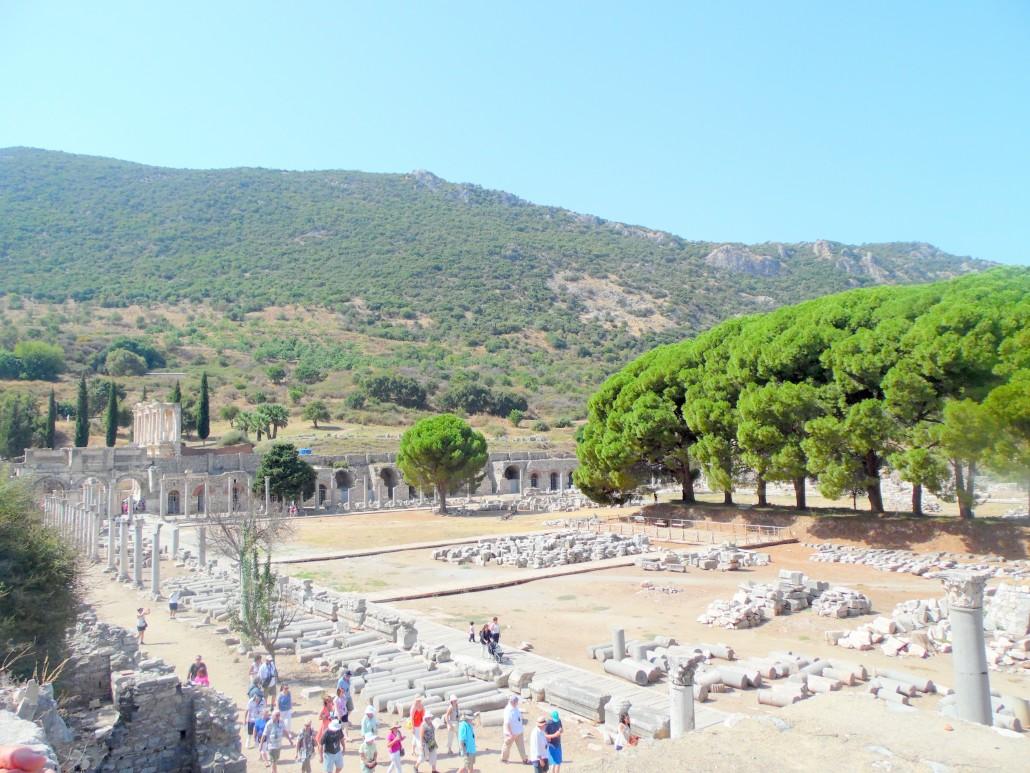 Efes Antik Kenti Ticaret Meydanı